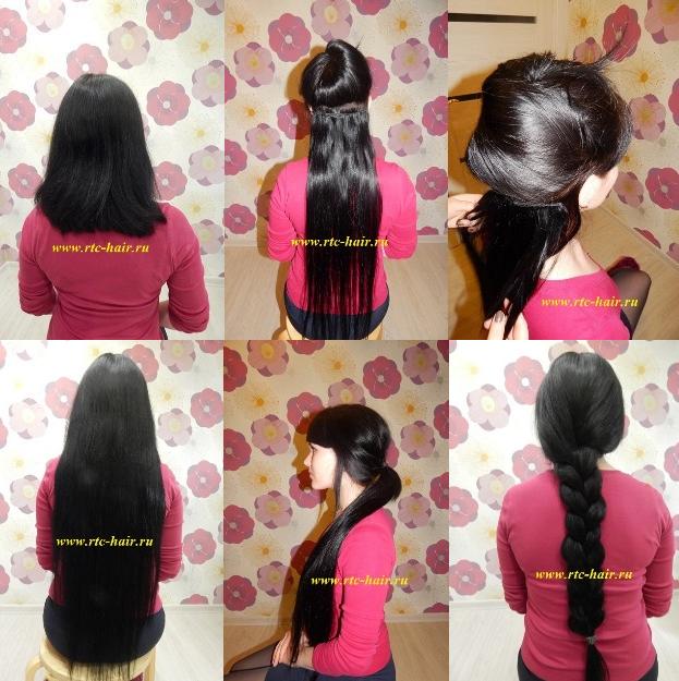 Искусственные волосы на заколках екатеринбург